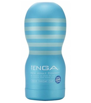 Masturbateur Homme - Tenga Original Vacuum Deep Throat COOL CUP