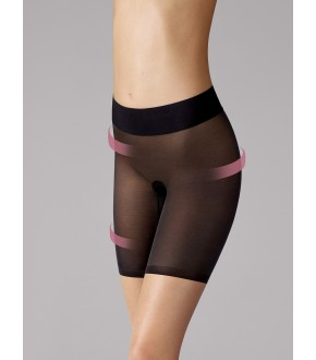 Shorty Gainant - Wolford Sheer Touch Control 696 20 Noir